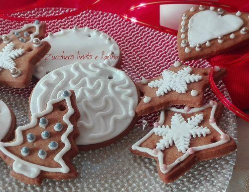 Biscotti di Natale da regalare o appendere