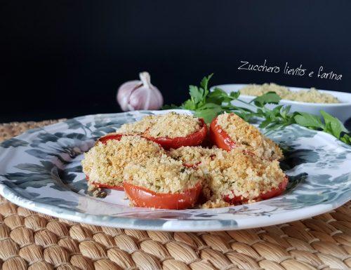 Pomodori al gratin: consigli e segreti