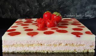 torta giardino di fragole